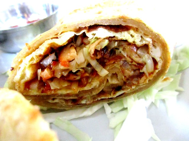 Cafe Ind chicken egg roll 2