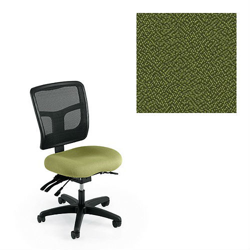 Office Master YS72-1168 Yes Series Mesh Back Multi Adjustable Ergonomic Office Chair - Grade 1 Fabric - Spice Mint Green