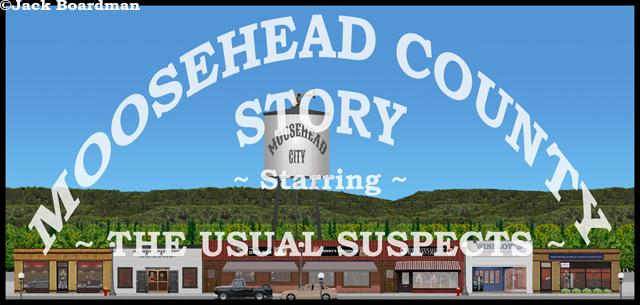 Moosehead County Story Banner II ©Jack Boardman