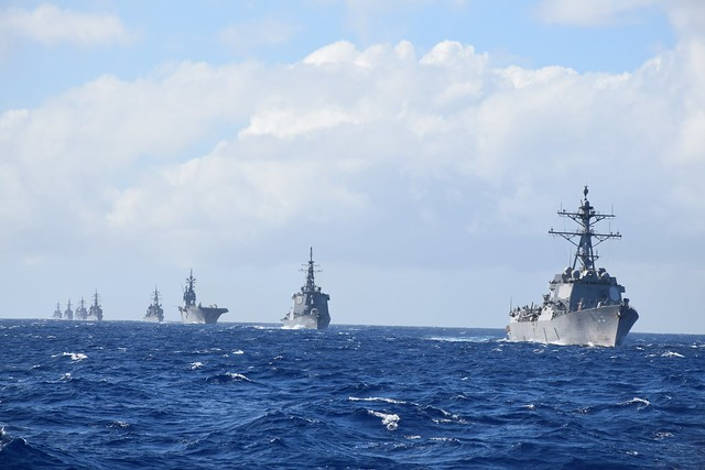 Guam Exercise (GUAMEX), an annual bilateral training exercise between the U.S. Navy and Japan Maritime Self-Defense Force (JMSDF)