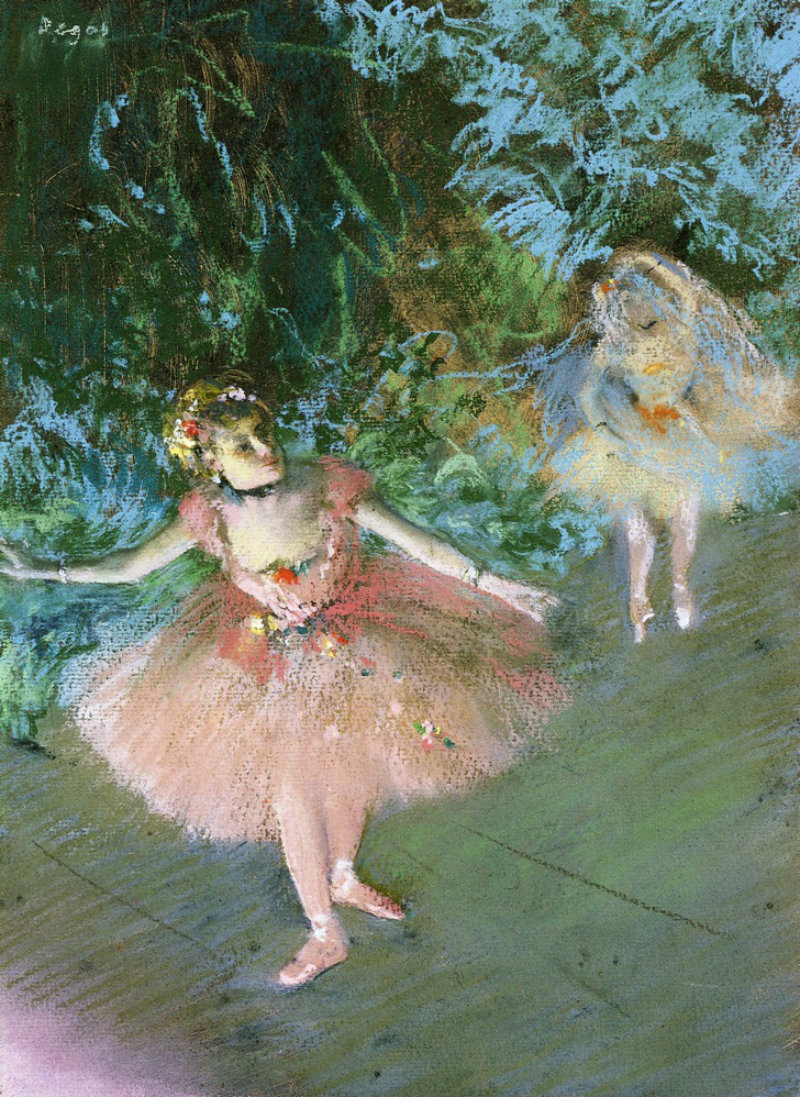 Dancers on Set by Edgar Degas, c.1880