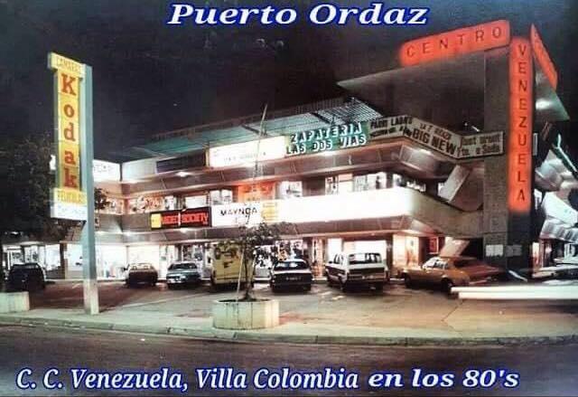 Un Centro Comercial ICONO de los años 80 en Puerto Ordaz: C.C Venezuela (Foto)
