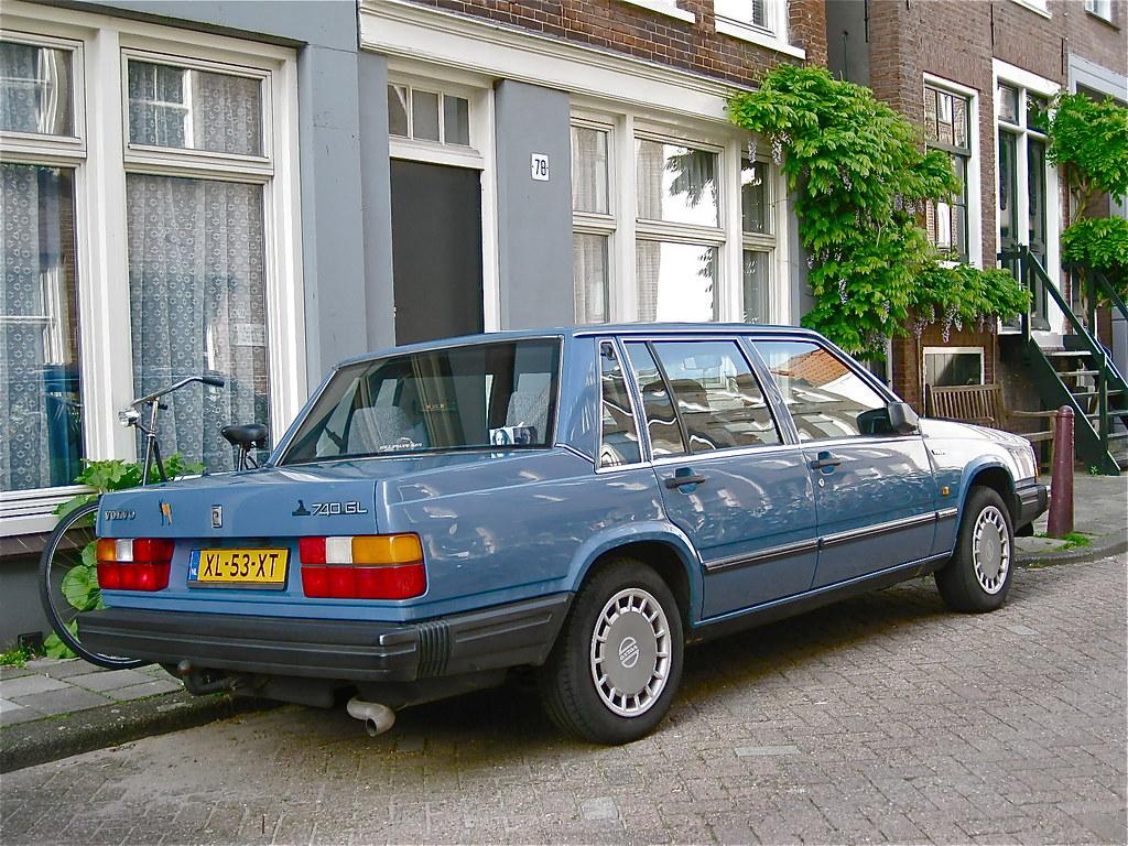 1989 Volvo 740 Gl Saloon