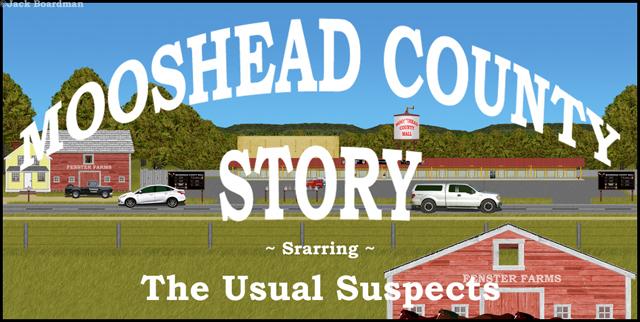 Moosehead County Story Banner ©Jack Boardman