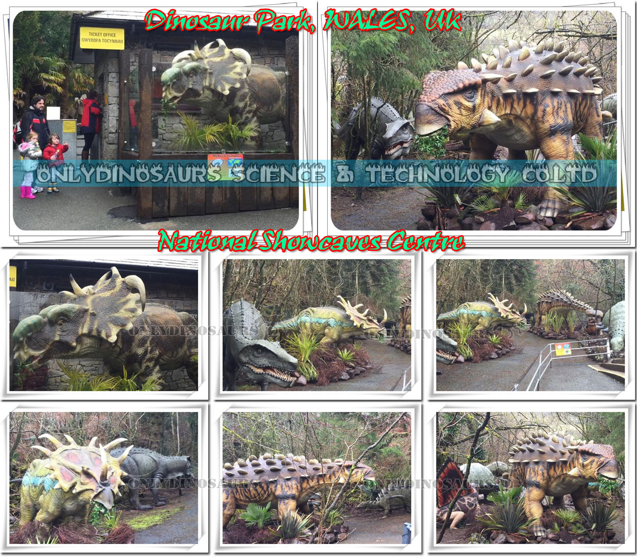 Dinosaur Park in Wales