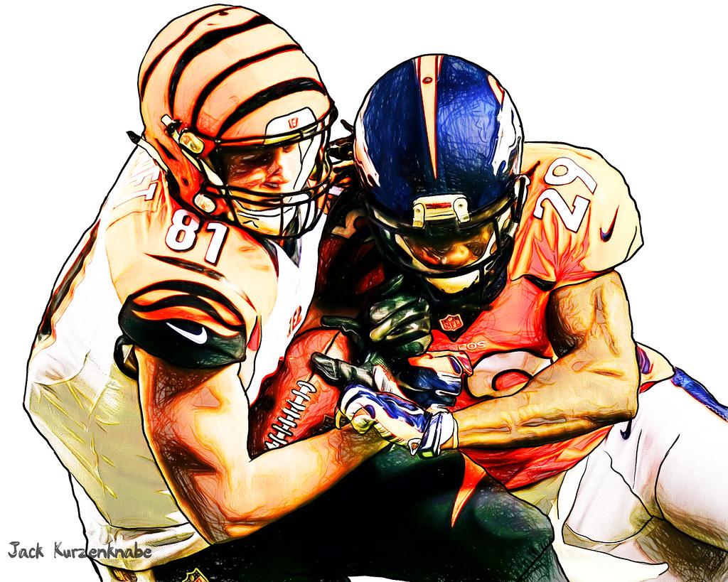 Denver Broncos Bradley Roby Cincinnati Bengals Tyler K…