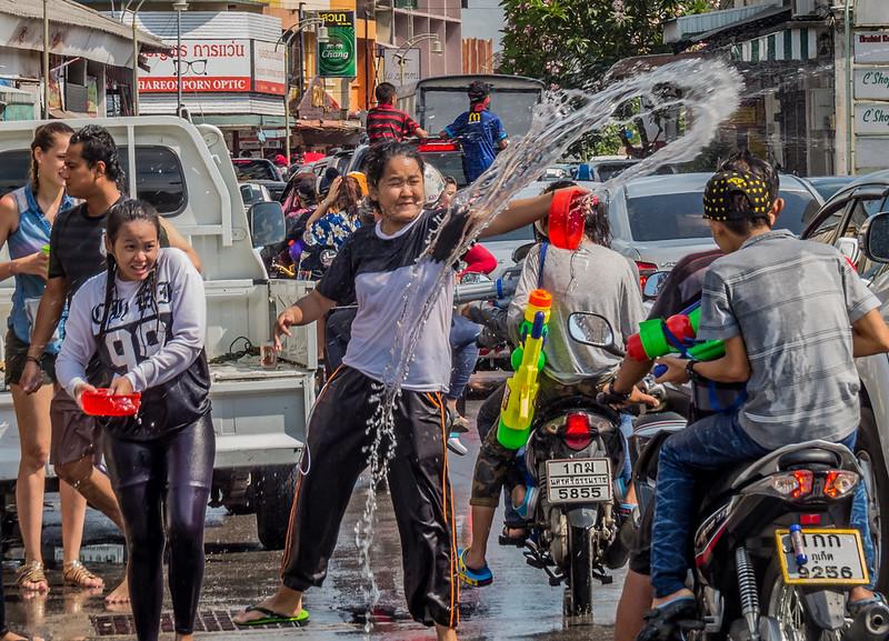Songkran 2016 phuket, thailand