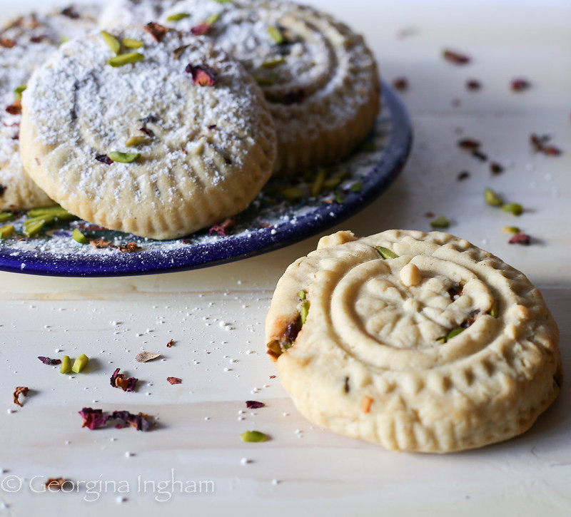 Georgina Ingham | Culinary Travels Photograph Proabably the most popular of Arabic Cookies. Short, crumbly Ma'amul cookies filled with spices, nuts and dried fruits