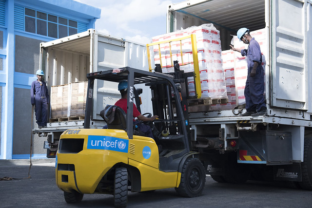Inauguration of new UNICEF warehouse