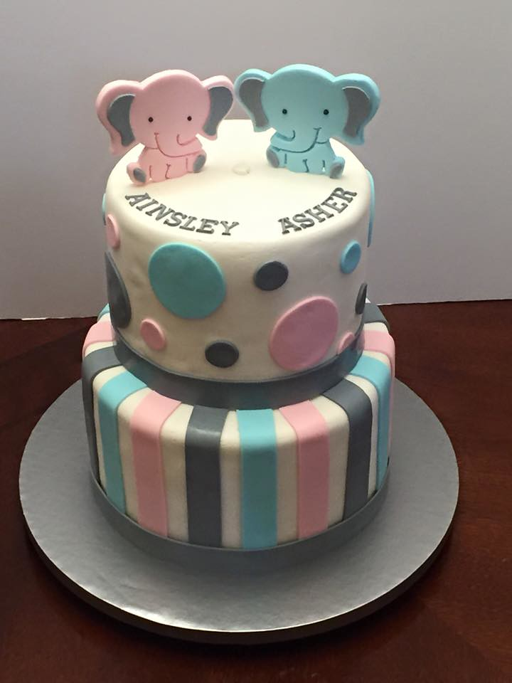 Twin Girl Baby Shower Ideas