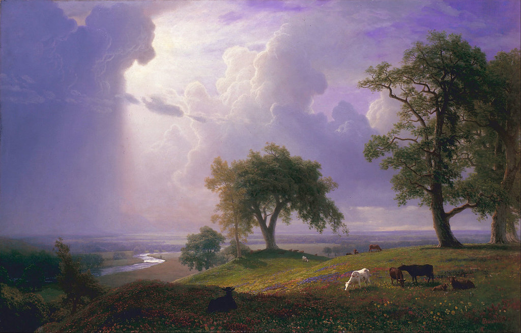 California Spring by Albert Bierstadt, 1875