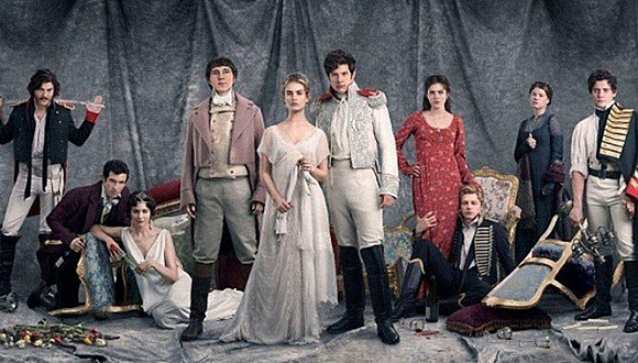 New version of ' war and peace ', Russian epic British small words?