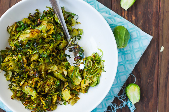 Sriracha Honey Lime-Glazed Brussels Sprouts