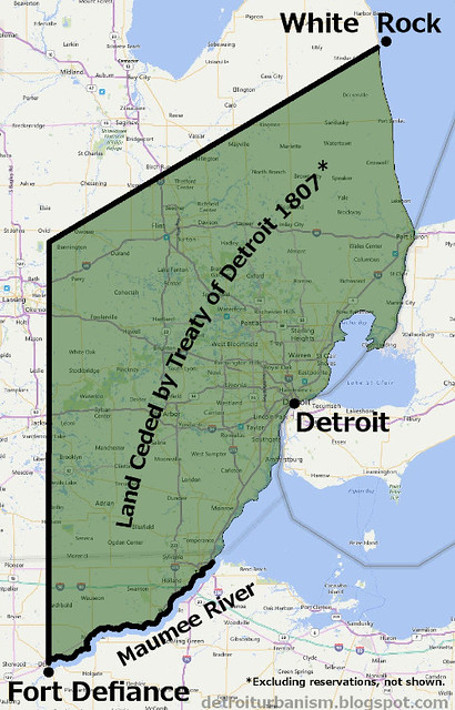 Detroit Urbanism: Indian Villages, Reservations, and Removal