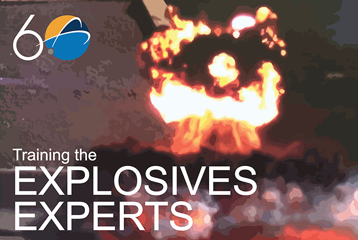 Picture of the Week: Training the explosives experts