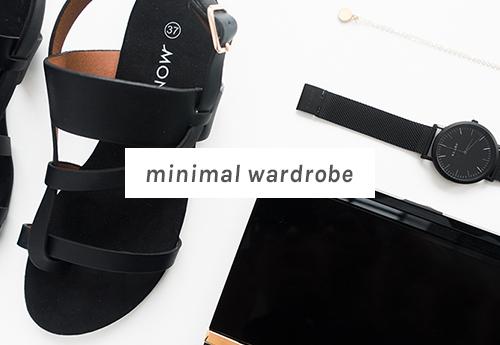 The Minimal Wardrobe