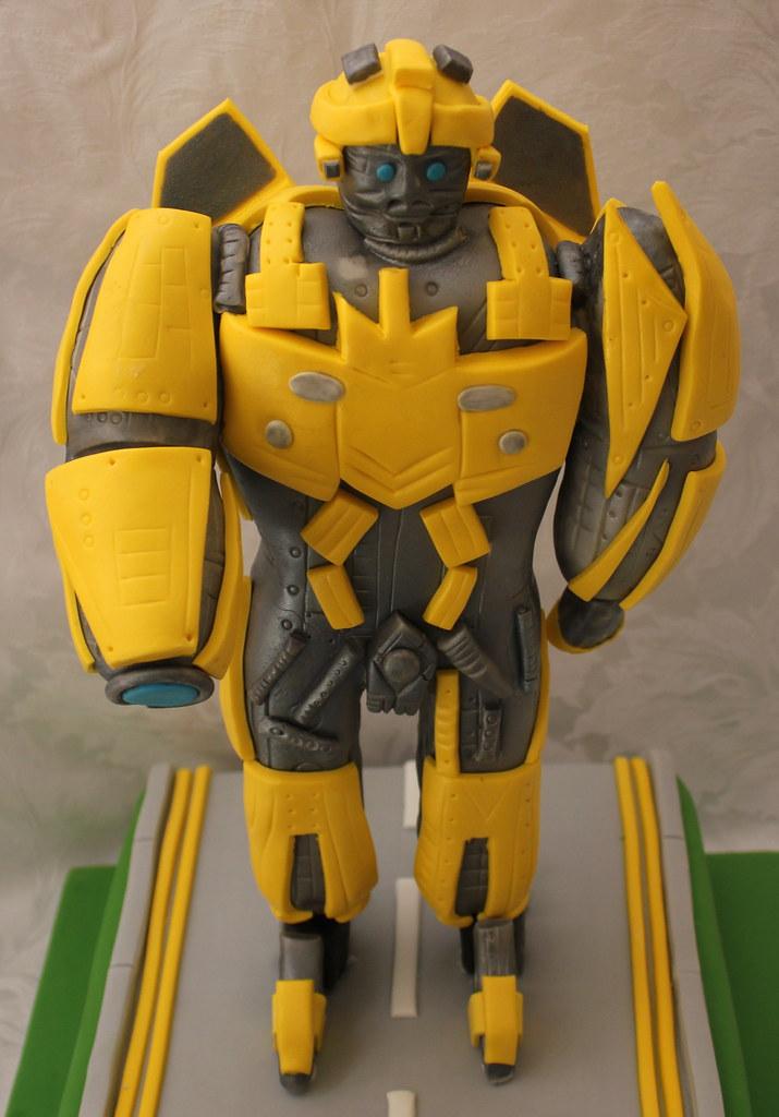 Transformers Bumblebee Grooms Cake Pauls Creative