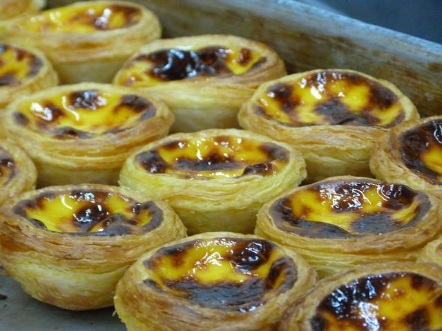 Egg tarts o pastelitos de nata de Macao
