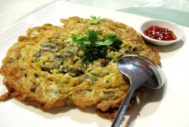 Flavopurs oyster omelette