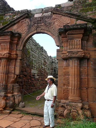Lucas, spécialiste des missions jésuites des Guaranis