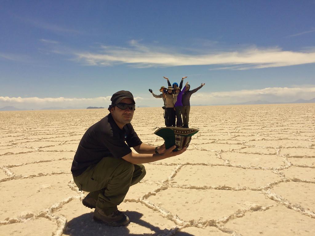 우유니 소금사막