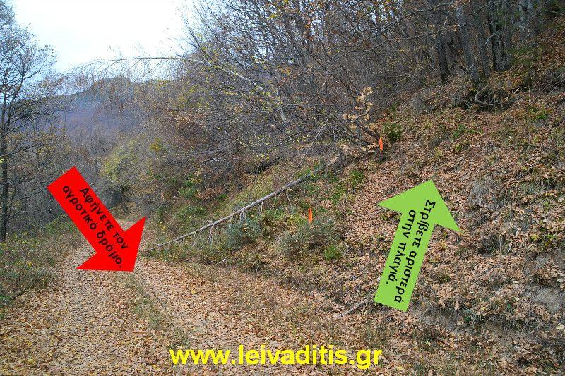 Χρηστικές πληροφορίες και φωτογραφίες κρίσιμων σημείων των διαδρομών