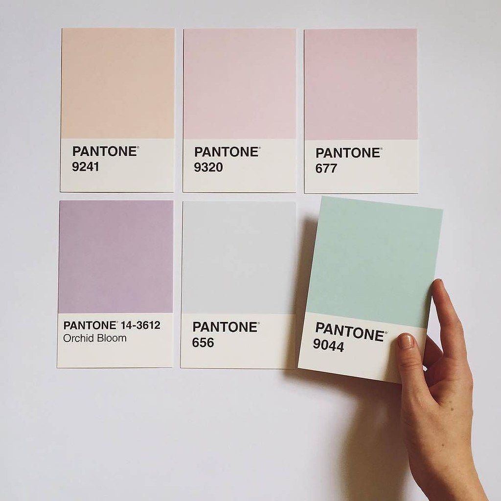7 Soothing Color Palettes For Your Bedroom In 2019: This Soothing Color Palette Has Us Dreaming Of Soft Pastel