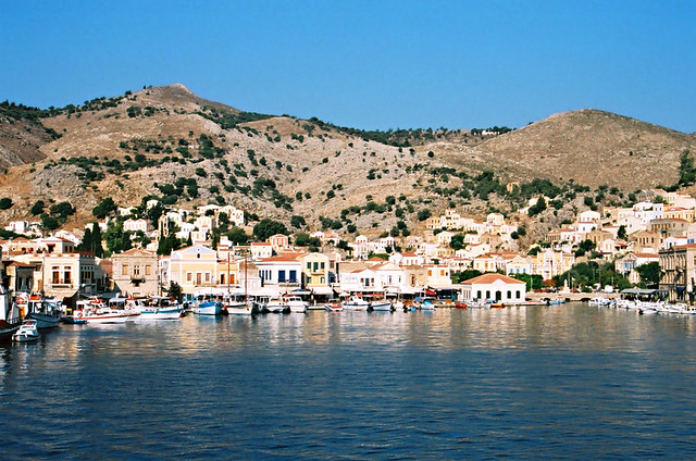 Harbour, Symi Town, Symi, Greece