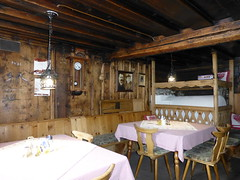 600 Jahre alte Gaststube im Krimmler Tauernhaus