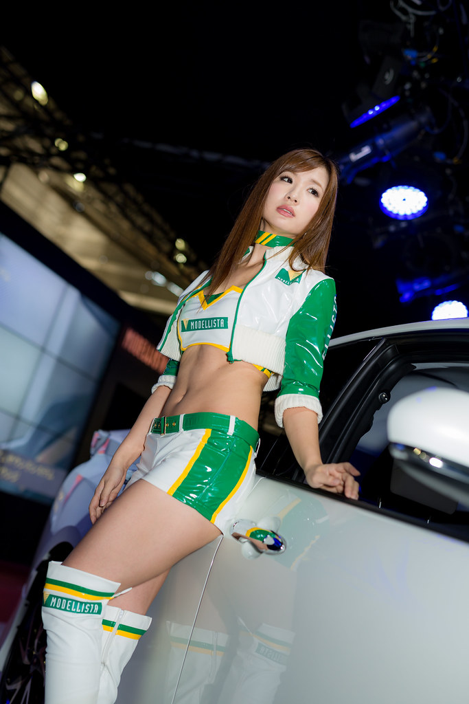 MODELLISTA -Tokyo Auto Salon 2016 Show Girl (Makuhari, Chi… | Flickr Hsm