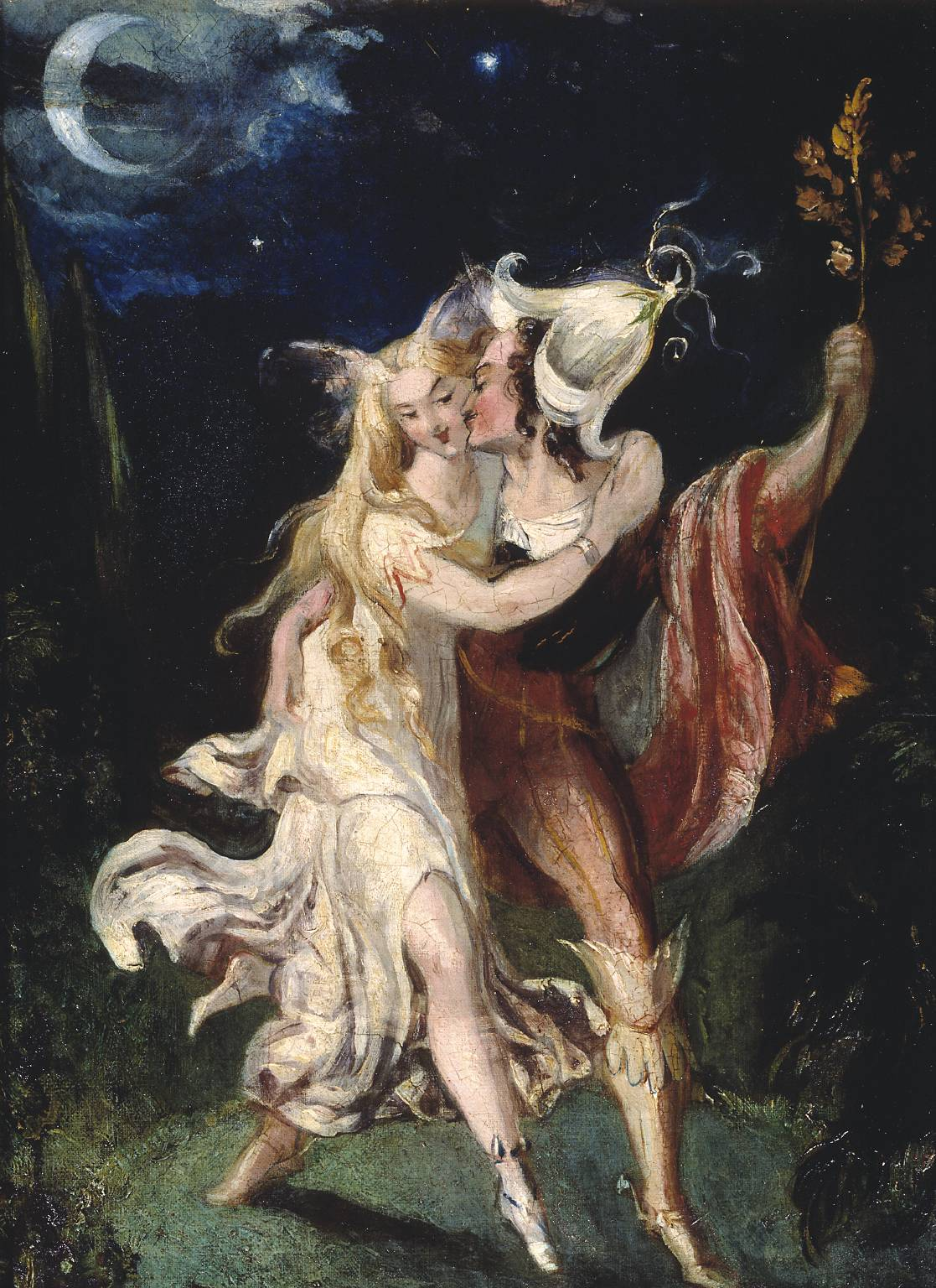 The Fairy Lovers by Theodore Von Holst, c.1840.