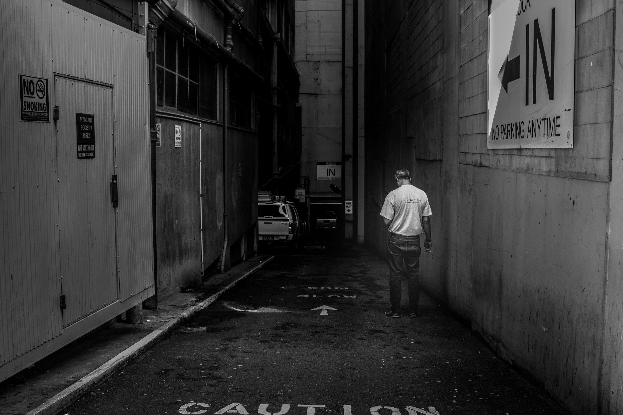 You'll find them in dark alleyways