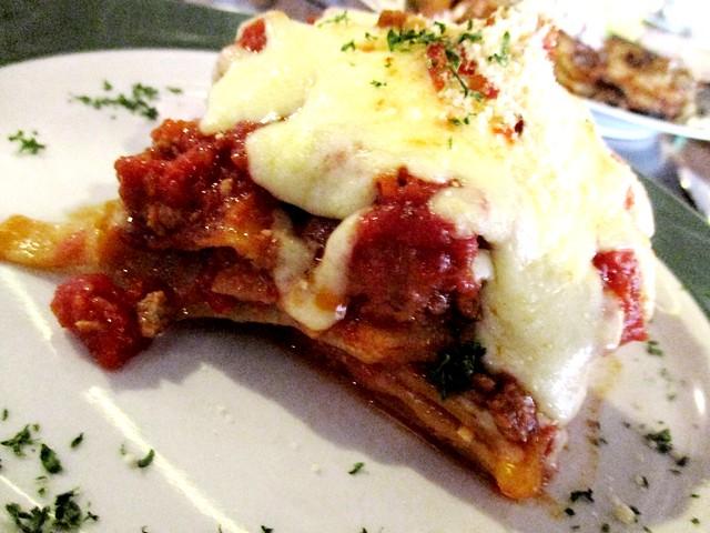 Bistecca & Bistro lasagna 2