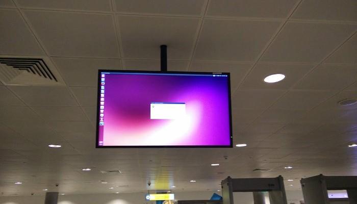 Ubuntu в аэропорту