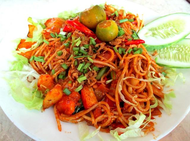 Valentine Cafe spaghetti mamak