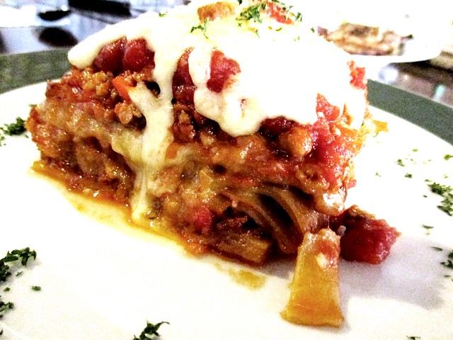 Bistecca & Bistro lasagna 1