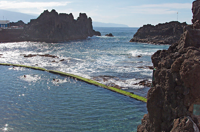 Sea pool, El Pris, Tenerife