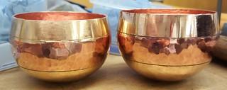 brass & bronze tumblers