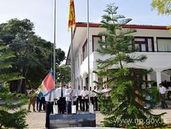 வட மாகாண ஆளுநர் செயலகத்தில்  சுதந்திர தின நிகழ்வுகள் இடம்பெற்றன