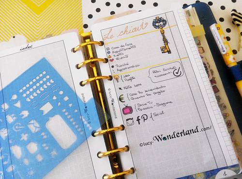 keys e altri simboli che utilizzo nel mio bullet journal