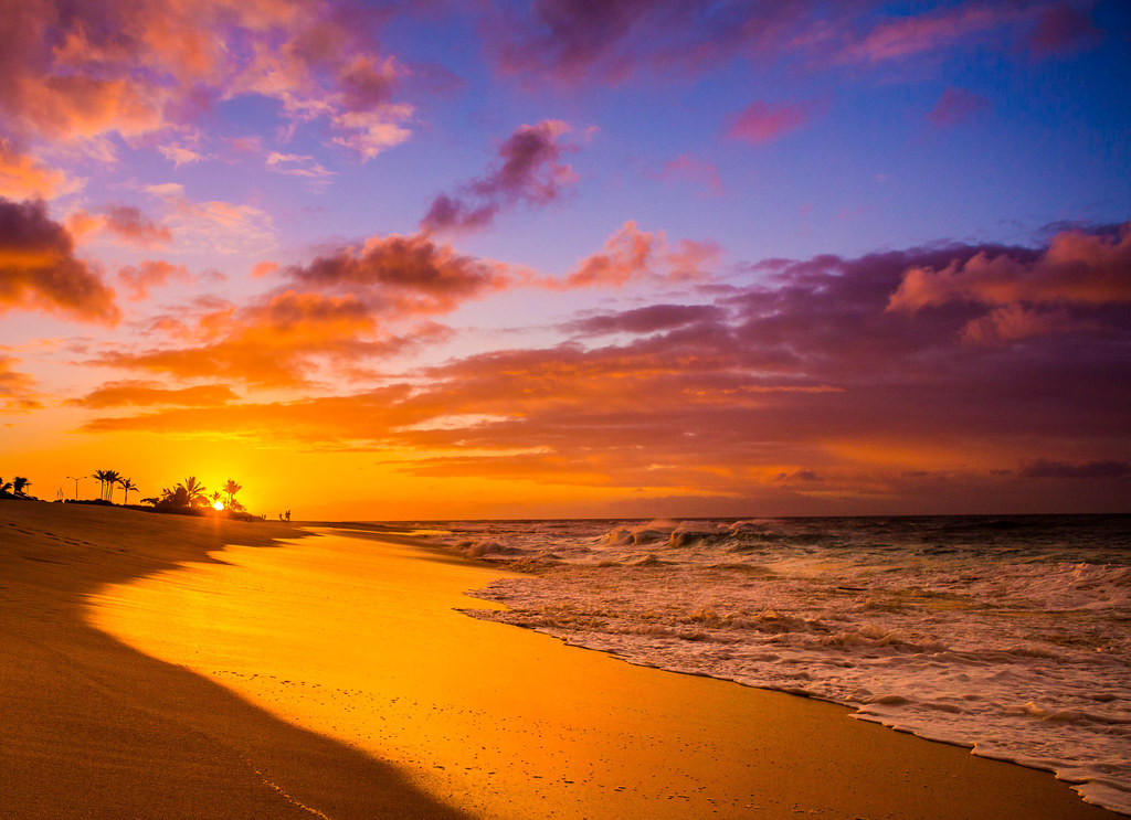 Sandy Beach Park Oahu Hawaii