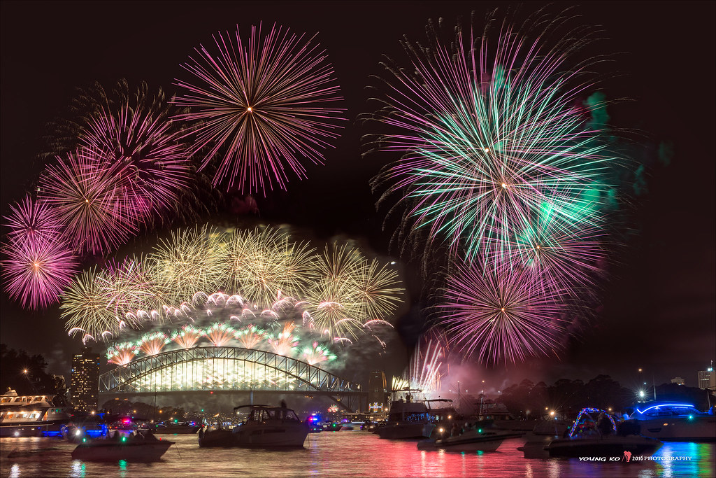 2016 Sydney New Year's Eve Fireworks