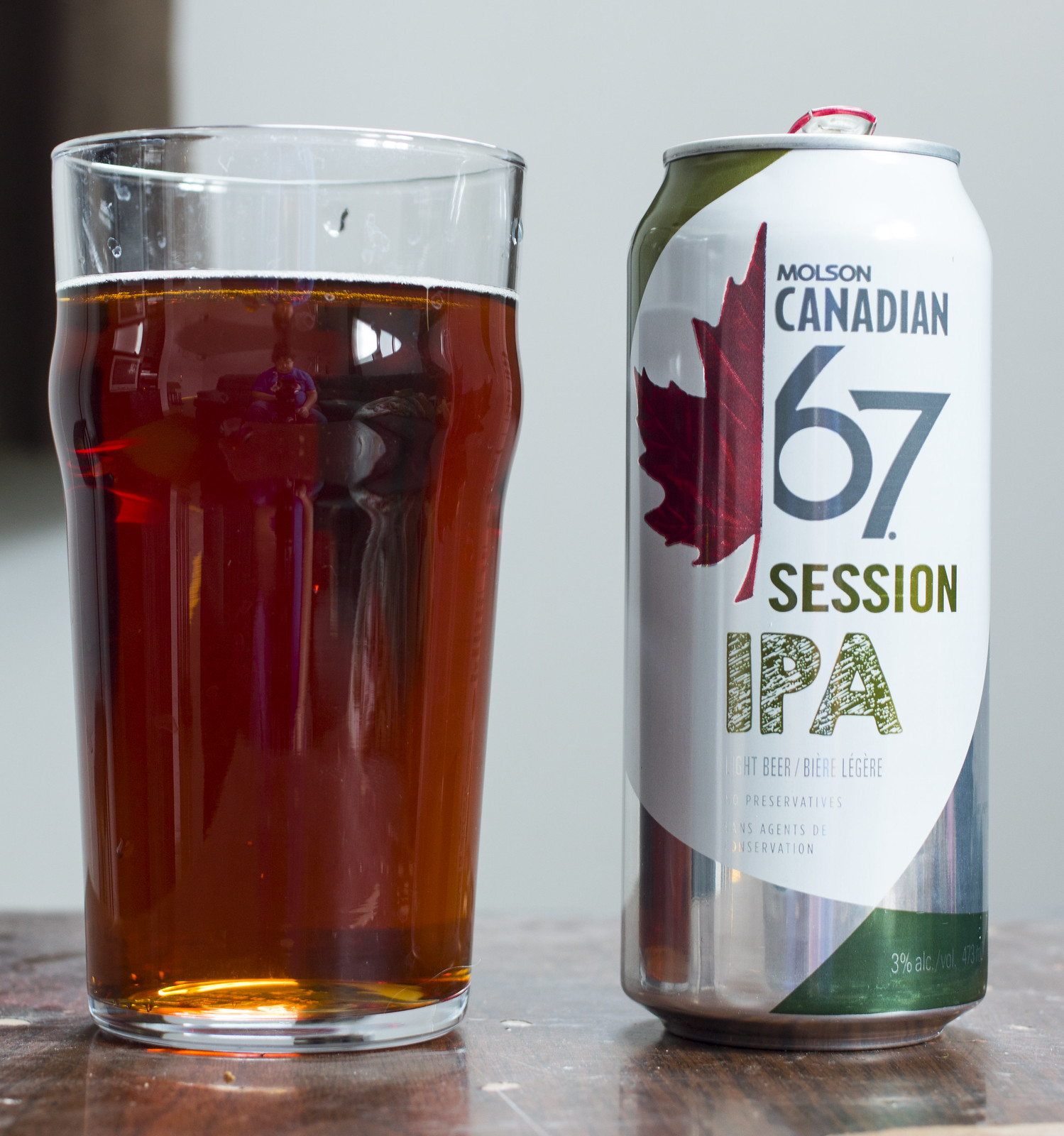 Review: Molson Canadian 67 Session IPA