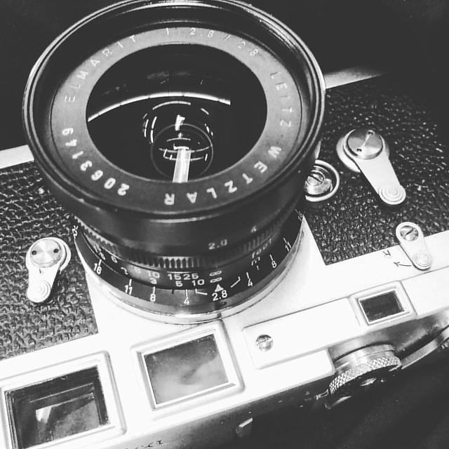 Leica Elmarit 28mm f2.8 九枚玉手入試玩