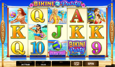 Bikini Party slot game online review