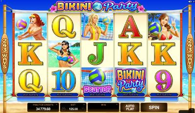 Bikini Party slot game online review