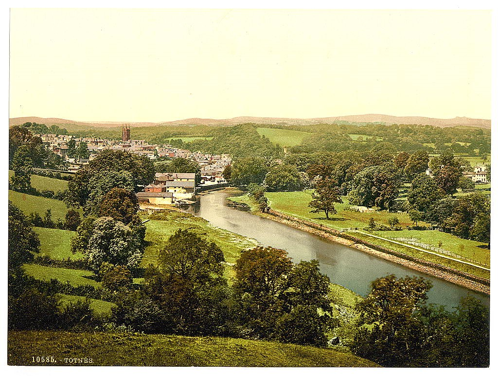 General view, Totnes, Devon