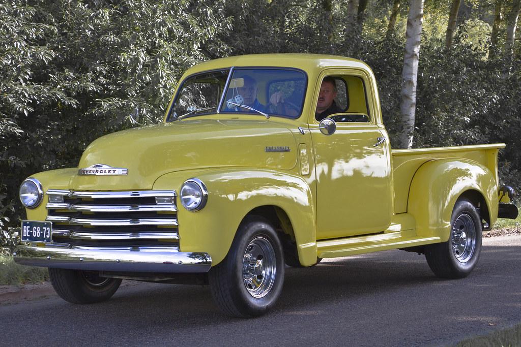 Chevrolet 3100 Stepside Pick-Up Truck 1950 (3791)