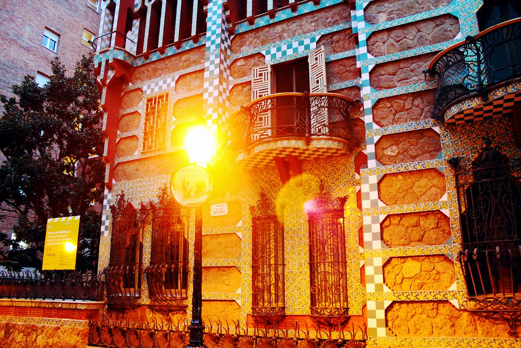 Drawing Dreaming - visitar Barcelona - Casa Vicens