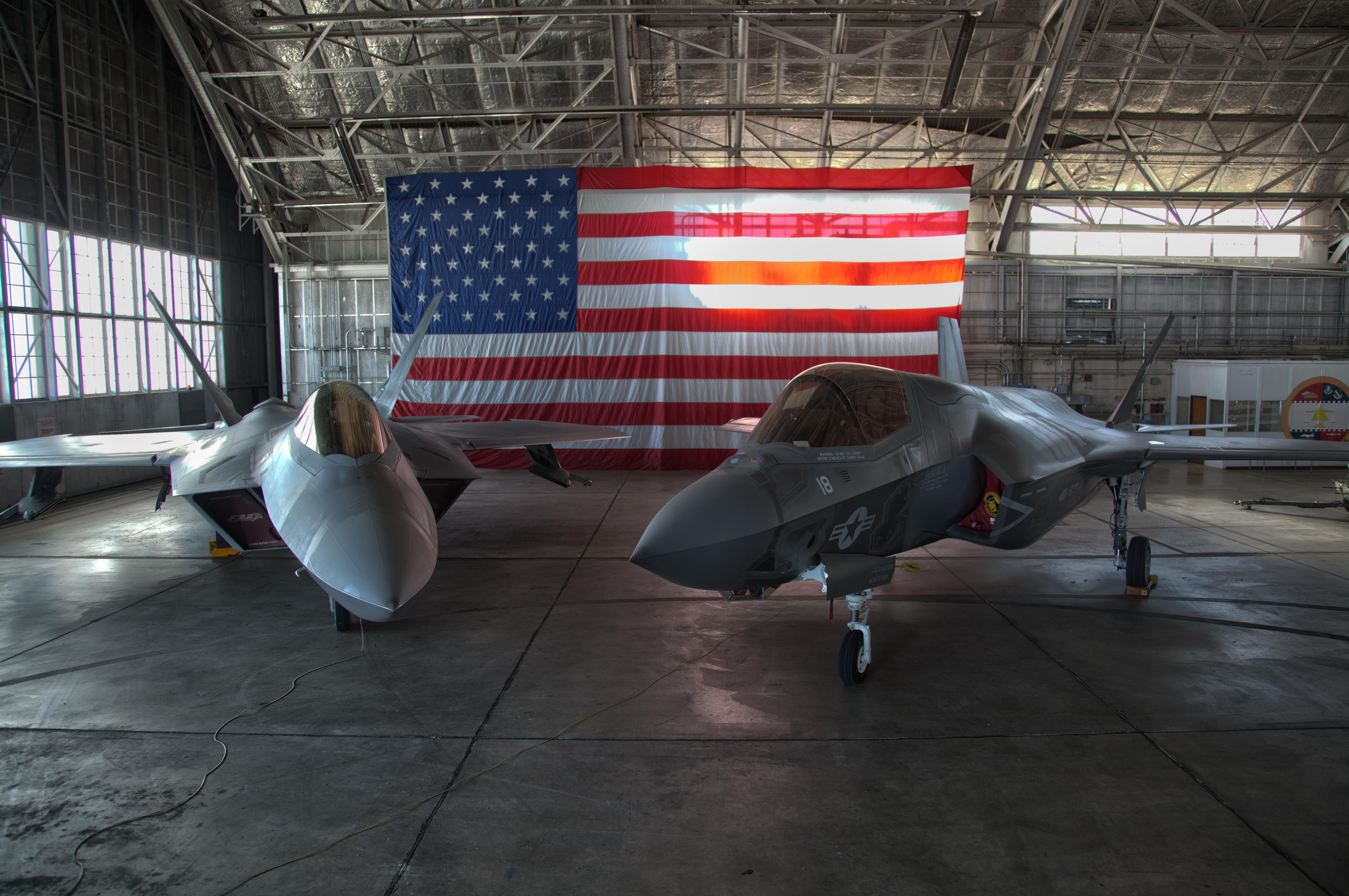 5th Gen Family: F-22A Raptor and F-35A Lightning II [5604 x